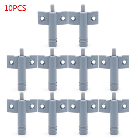 $6.24- 10 X Kitchen Cabinet Door Drawer Soft Quiet Close Closer Damper Buffers + Screws L15