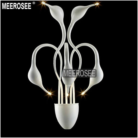 $328.35- Modern Swan Wall Sconce Light Lustre G4 Wall Bracket White Color Bra Light Fixture Lamp 5Lights For Living Room Bedroom Corridor