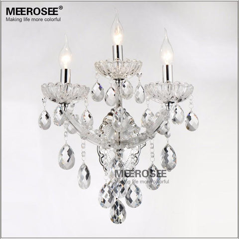 $222.53- Maria Theresa Crystal Wall Sconces Light Fixture with 2 lights Amber color
