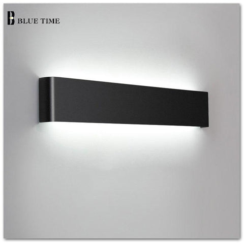 111cm Bathroom Mirror Front Wall Light AC85260V Modern LED Wall Lamps Sconce Light For Indoor LightingBlack White Finished