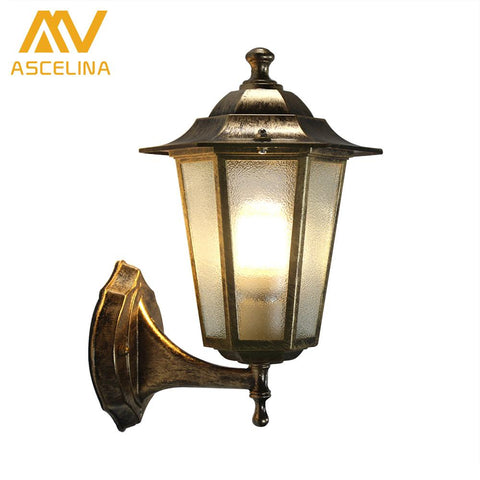 $51.50- ASCELINA Outdoor LED Wall Light Vintage sconce wall lights for home Industrial wall lamps for reading home lighting E27 85260V