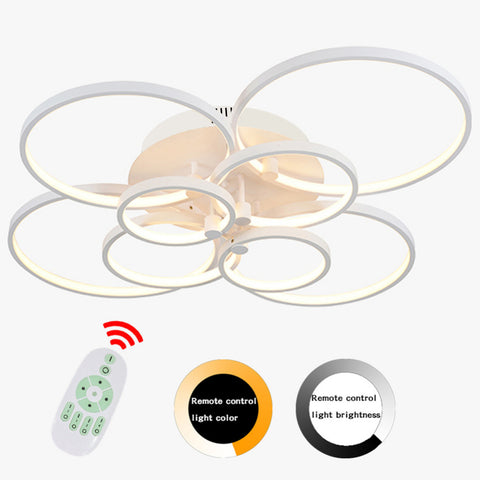 Est Wood Leaf Ceiling Fan Lamp Minimalist Fashion Modern Ceiling Fan Living Room Dinning Room Fan Suspension Light 220V