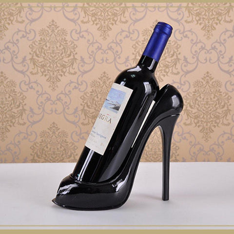 $50.00- High Heel Shoe Wine Bottle Holder Wine Rack Ornaments Crafts Barware Craft Gift Accessories Embellishment For Home Decoration