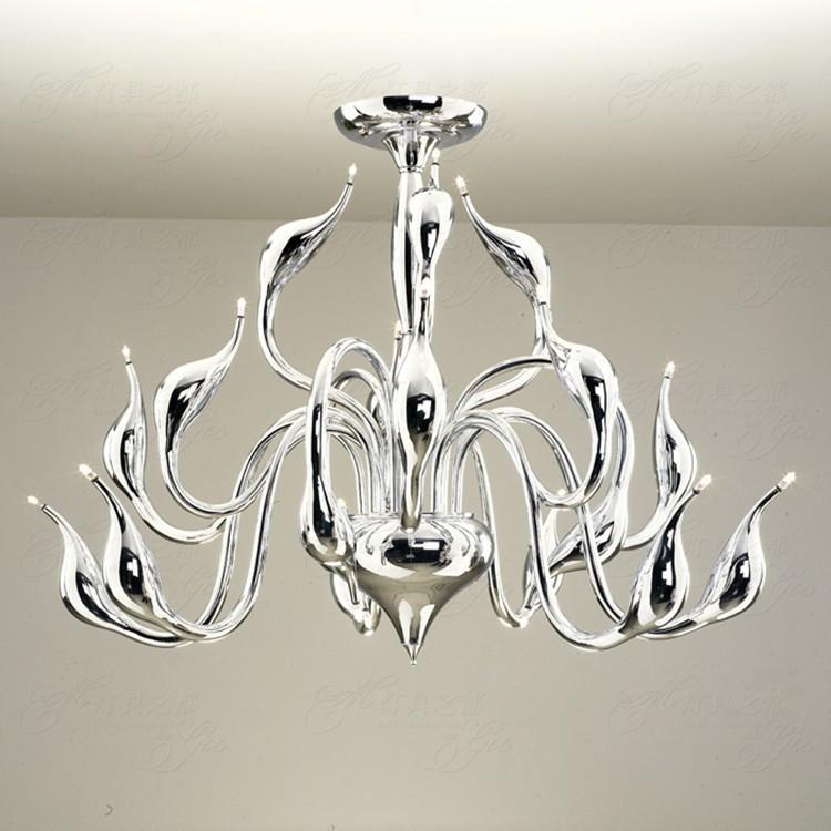 Buy Modern Led Chandelier Swan Light Heads Foyer Led Decoration - Where to buy kitchen lights