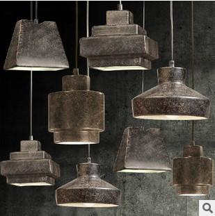 Retro Style Loft Led Vintage Industrial Lighting Pendant Light Hanging Lamp Lamparas Vintage Colgantes