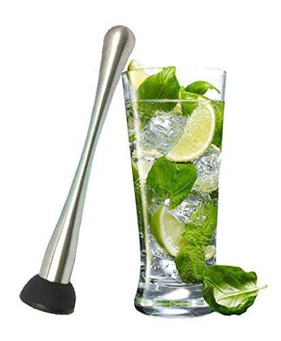 $18.98- Stainless Steel 8 Inches Abs Bar/Ice/Fruit Muddler/Pestle Cocktail Muddler Moscow Mule Barware Bar & Cooking &Kitchen &Beer Tool