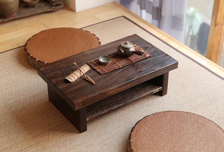 $232.56- Oriental Antique Furniture Design Japanese Floor Tea Table Small  Size 60*35Cm Living - Buy Oriental Antique Furniture Design Japanese Floor Tea Table Small