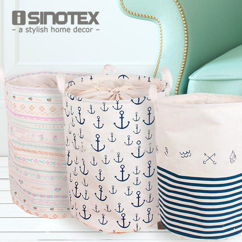 $22.75- Foldable Laundry Basket Large Covered Waterproof Clothes Toys Clothing Storage Barrels Bathroom Sundries Laundry Basket 1Pcs/Lot