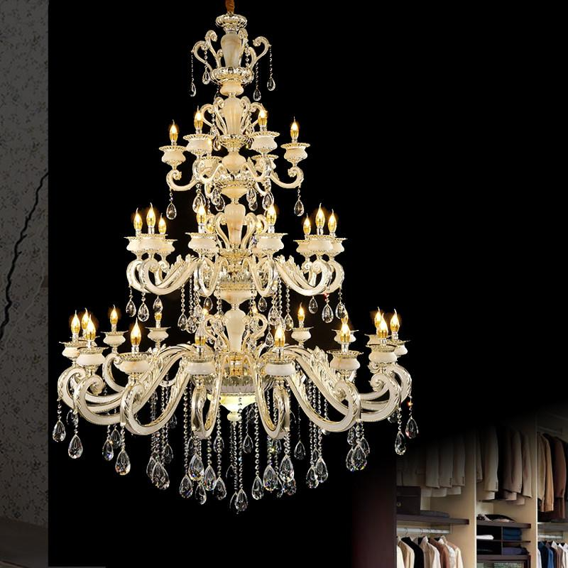 $12000.00- Maria Theresa Decorative Chandelier Empire Led K9 Handmade Chandelier Hanging Candle Bohemian Chandelier Industrial Large Hall