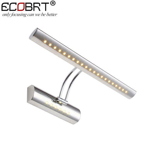$35.69- 5W Modern Indoor Bathroom Mirror Wall Lights Led Stainless Steel Smd5050 Swing Arm Sconces Picture Lamps 5W Ce Rohs 100240V Ac