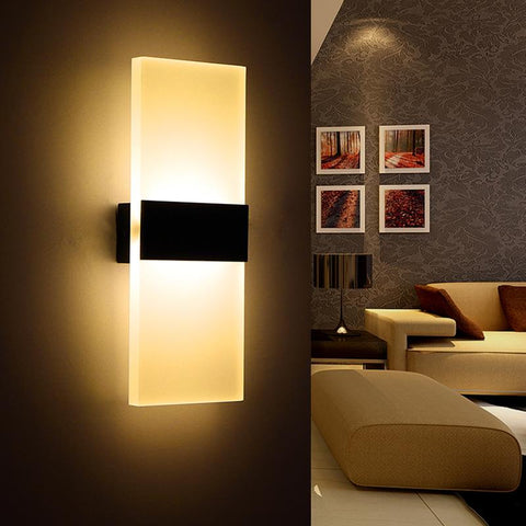 $51.73- Modern Bedroom Wall Lamps Abajur Applique Murale Bathroom Sconces Home Lighting Led Strip Wall Light Fixtures Luminaire Lustre