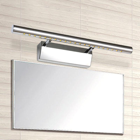 Modern 5W 7W 9W 12W Led Bathroom Mirror Lights Wall Lamps For Indoor Stainless Steel Decoration Lighting Shipping
