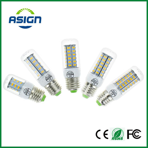 $2.27- E27 E14 Led Bulbs Light Lamps 5730 220V 24 36 48 56 69Leds Led Corn Led Bulb Christmas Lampada Led Chandelier Candle Lighting