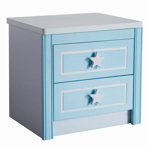 Children'S Bedside Lockers Set Combination Cabinet.