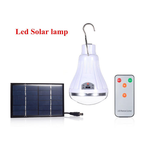 $21.82- Outdoor/Indoor 20 Led Solar Sun Light Garden Home Security Lamp Dimmable Led Solar Sun Lamp By Remote Control Camp Travel Lighting