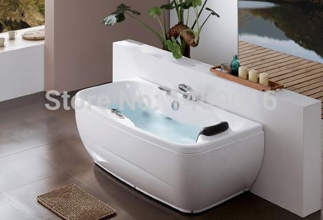 $1703.45- Sea Whirlpool Bathtub Acrylic Abs Composite Piscine Right Head Rest Massage Hot Tub W4011