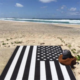 Black and White American Flag - Live Activewear