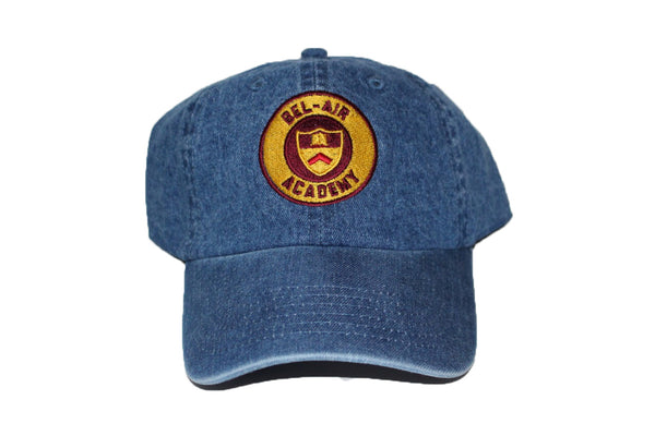 Denim Bel-Air Academy Dad Hat – ApexHats e891b34f454