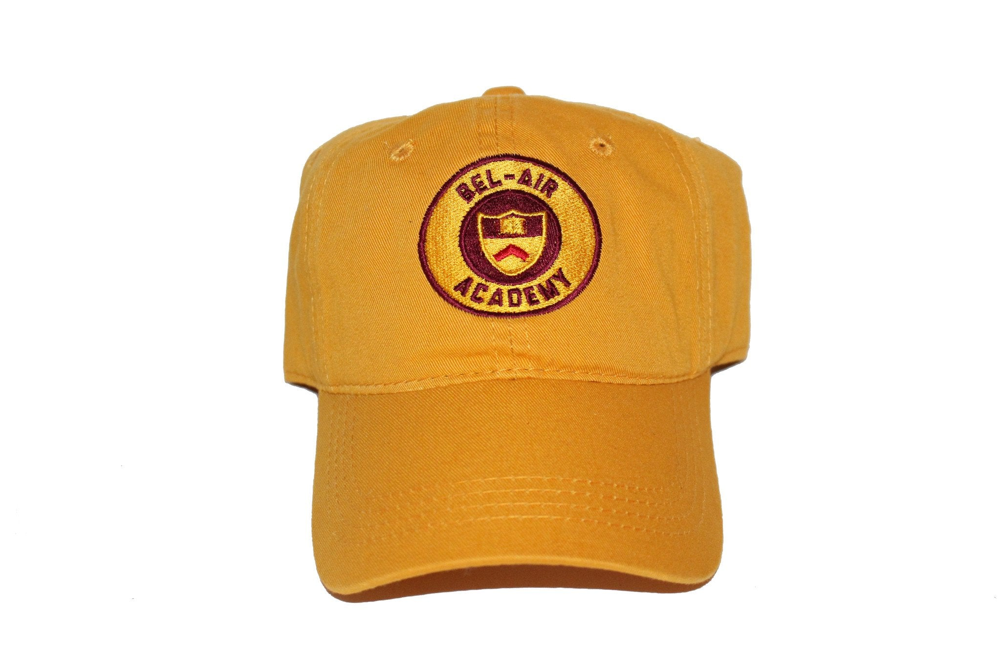 Gold Bel-Air Academy Dad Hat – ApexHats 6077aec09b7