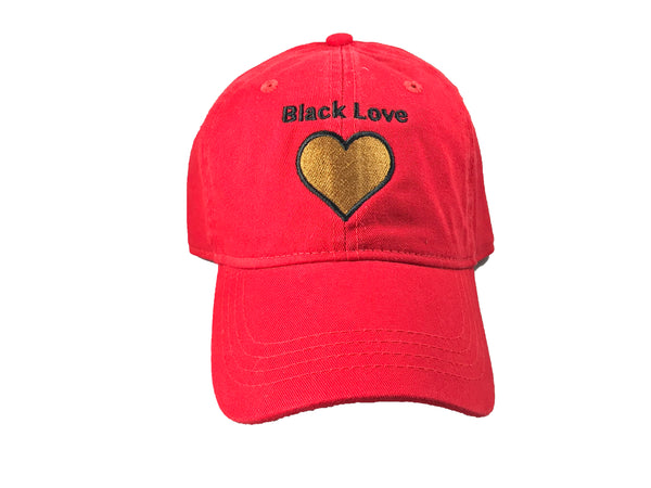 9a5a6d768d4 Red Black Love Dad Hats – ApexHats
