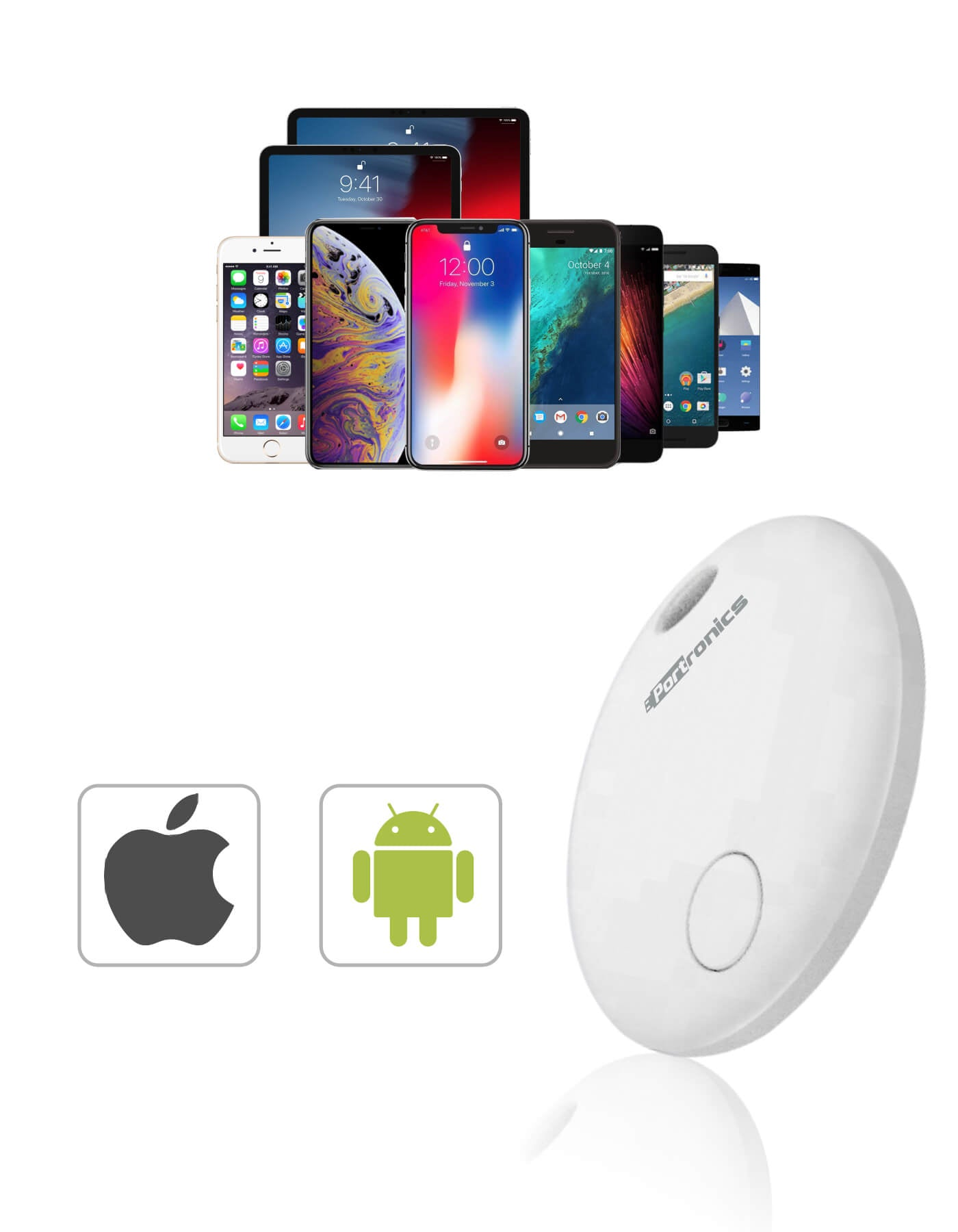 iTrack1: Smart Tracker with Anti-Loss Function & Smart Key Finder