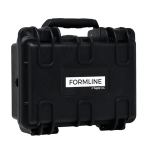 Formline Smell Proof Case Medium - Airtight Hard Case with Foam for Glass Protection