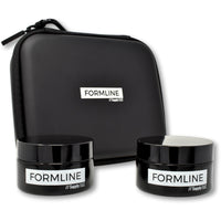 50 ML Smell Proof Glass Herb Jars and Travel Case