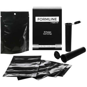 The Top Shelf of Smell Proof Bags by FormlineSupply. Lock in Freshness, Extend Shelf Life, Made in the USA.