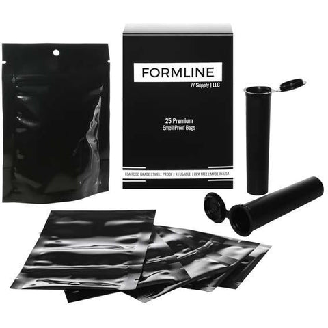 25 Smell Proof Bags (4x6 Inches) - Made in USA - Free Shipping!  sc 1 st  Formline Supply & Products u2013 Formline Supply
