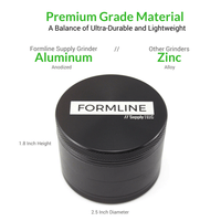 Kitchen Grinder - Large 4 Piece (2.5 inch) by Formline Supply