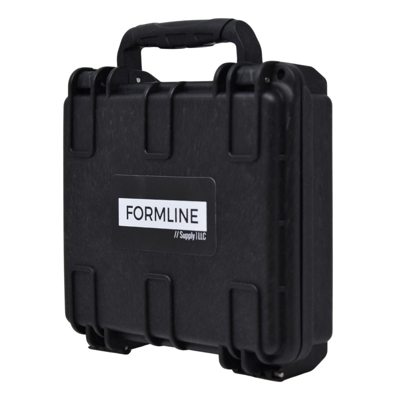 Formline Airtight Hard Case (Slim Medium) with Foam for Glass Protection