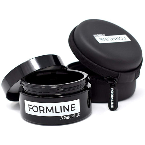 Formline Smell Proof Jar and Travel Case Set - Ultraviolet Glass (100 ml - 1/4 oz)