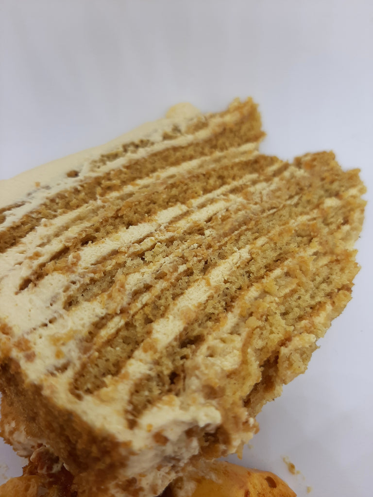 Medovik - Russian Honey Cake