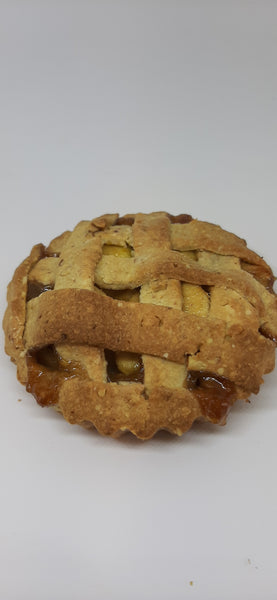 Apple crostata (Italian apple pie)