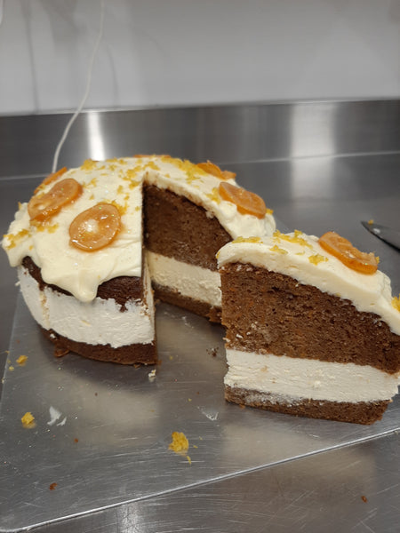 Lemon cheesecake Carrot Cake