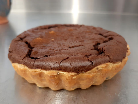 South African chocolate milk tart