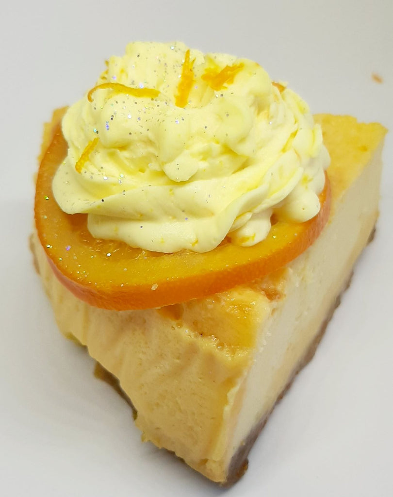 Ricotta style orange cheesecake