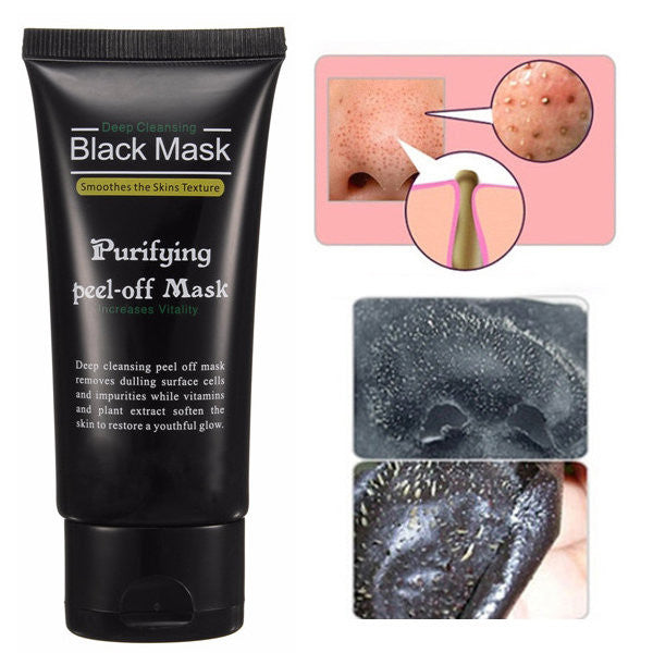 Deep Cleansing Blackhead Peel-off Removal Black Mask Smoothes Skin Purifying