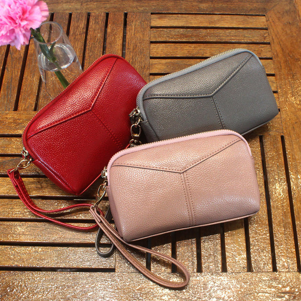 Women Large Capacity Clutches Bags Phone Bags Coin Wallets