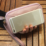 CLEARANCE-Women Large Capacity Clutches Bags Phone Bags Coin Wallets