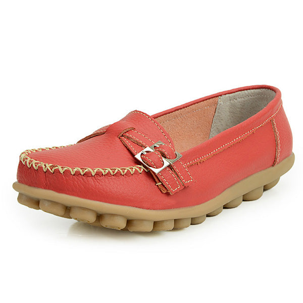 Women Slip On Comfortable Moccasin Flat Loafers