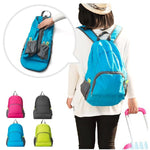 CLEARANCE-Outdoor portable travel foldable light-weight backpack Waterproof sport nylon bag