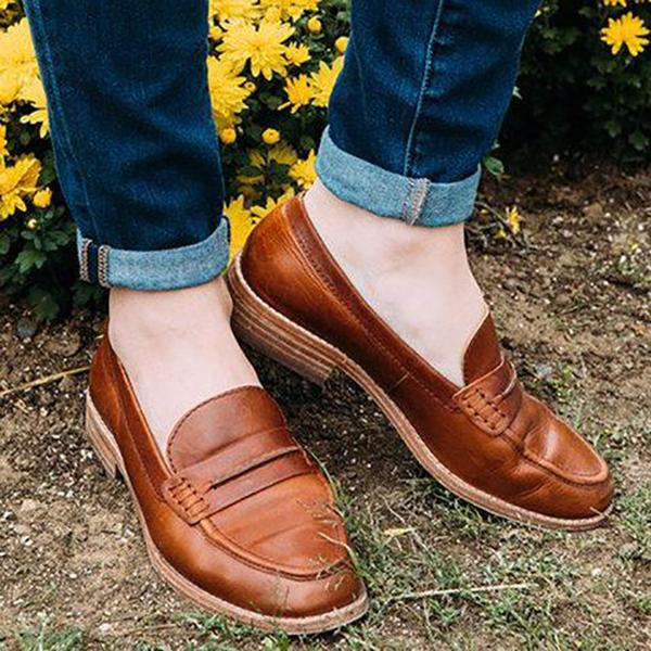 Casual Comfort Slip-On Shoes