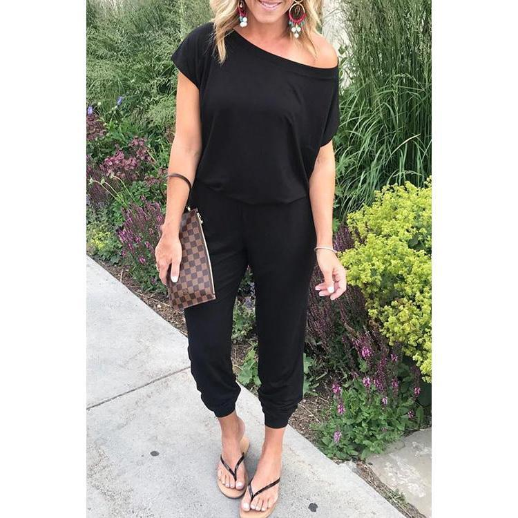 Casual Loose One-piece Jumpsuits