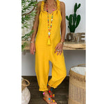 Casual Sleeveless Plus Size Sexy Jumpsuits