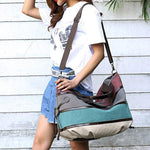 Women's Casual Canvas Handbags Messenger Bag Single Shoulder Bags