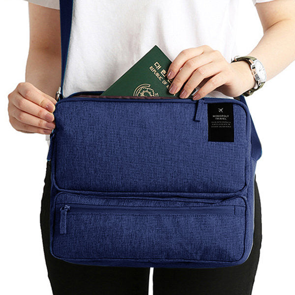 CLEARANCE-Women Men Unisex Outdoor Large Capacity Functional Laptop Shoulder Crossbody Storage Bag