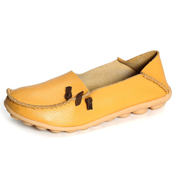 Soft Flat Loafers Lazy Comfy Slip On  Shoes