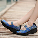 Handmade knitting Casual Shake Shoes