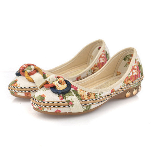 CLEARANCE-National Style Handmade Embroidered Flats Shoes